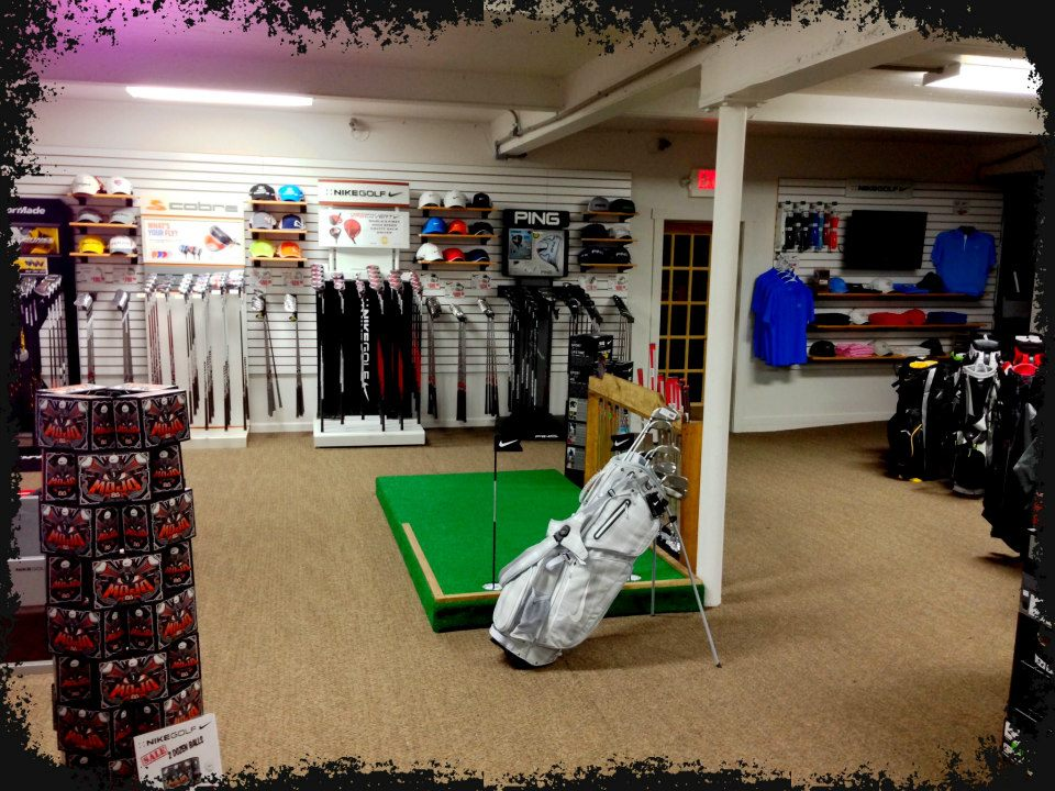 Pro shop at Wynding Brook Golf Club in Milton PA